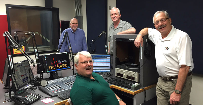 Pictured left to right are John Graney, Larry Lexow, Daryl McQuinn and Steve Jankowski